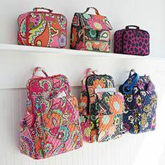 Vera Bradley Colorful Handbags and Backpacks