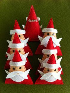 Santa pins