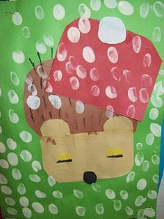 hedgehog, art lessons, unit studies, jan brett, book, kindergarten blogs, winter craft, art projects, hat
