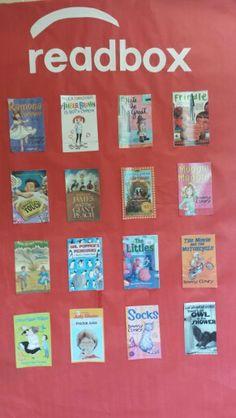 Readbox using Aurasma app to make book summaries come to life