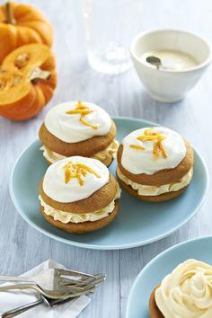 Autumn Colours And Munchkin Pumpkin Whoopie Pies