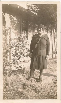 vintage african american flapper photos | 1920's African American Flapper Woman by TobyCreek on Etsy