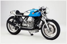 Moto Guzzi Cafe Racer - 'Kaffeemaschine5' - Pipeburn