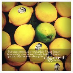try different