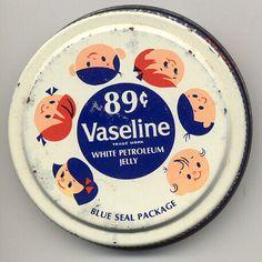 Old school Vaseline packaging:)