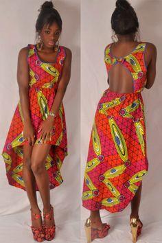 Dos Nu African Dress. by fifiMdesigns on Etsy #Africanfashion #AfricanClothing #Africanprints #Ethnicprints #Africangirls #africanTradition #BeautifulAfricanGirls #AfricanStyle #AfricanBeads #Gele #Kente #Ankara #Nigerianfashion #Ghanaianfashion #Kenyanfashion #Burundifashion #senegalesefashion #Swahilifashion DK