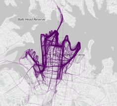 21 Maps That Show How People Run In DifferentCities