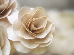 wood flower - Google Search