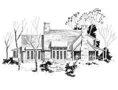 Ken Tate House Plans moreover Ve ian palazzo moreover Vintage Split Level Home Plans also Houseplan091D 0476 also Bungalow House Plans From 1930s. on before and after tudor house plans