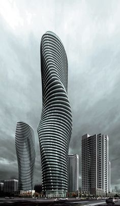 Marylin Monroe's Tower by Ma Yansong in Mississauga in Canada