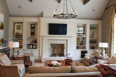 Built-Ins - traditional - living room - other metro - Wildwood Cabinetry