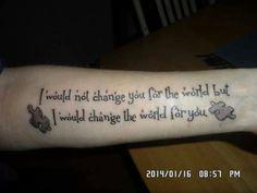 Autism tattoo