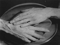 Berenice Abbott / Les mains de Jean Cocteau