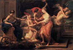 """Batoni Pompeo,  """"Matrimonio di Amore e Psiche"""", 1756 #enicultura #amoreepsiche #art"""