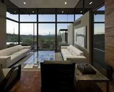 Decoration Astonishing Home Decor Inspiration Modern Living Room Glass Wall Home Decoration in Desert Theme