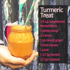 Tumeric is a super spice! We love it in smoothies.