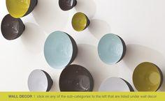 Global Views wall bowls