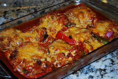 Stuffed Pepper Enchiladas Recipe – 5 Points + - LaaLoosh
