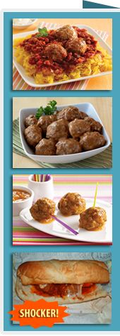HG's BEST #meatball recipes & store-bought picks! PIN AWAY!