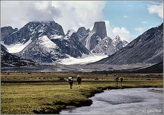 Baffin Island in Canada