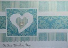 wedding cards, card idea, anniversari card, card card, diy card