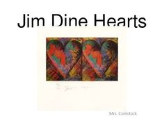Jim dine hearts by becomstock, via Slideshare