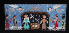 BOAF needlepoint nativity scene