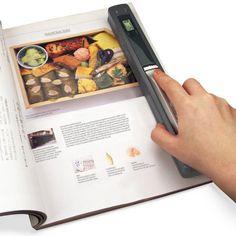 paper clutter, memori, handheld scanner, gift ideas, portabl handheld, gadget, hammach schlemmer, portabl scanner, home offices