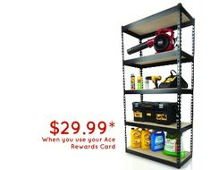 Our Steel Shelving U
