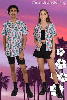 Matching Couples Set - 'Toucan Party' Mens & Ladies Hawaiian Shirts. Perfect outfit for a music festival, luau or cruise. I 100% cotton. Also available in kids. #hawaiianshirt #hawawaiianshirts #partyshirt #alohafriday #toucanshirt #luaushirt #cruisewear #islandstyleclothing #flamingoshirt #festivalshirt #festivalfashion #fashion #fashionita #partyshirt #couplesset #couplesgoals #matching #matchymatchy #matchingshirts #luau #beachparty #cruise #couplesgoals #honeymoon #cutematchingshirts