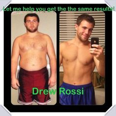 Drew lost 40 pounds and put on 10 pounds of muscle! Does Herbalife work? Come see him at Limestone Nutrition!