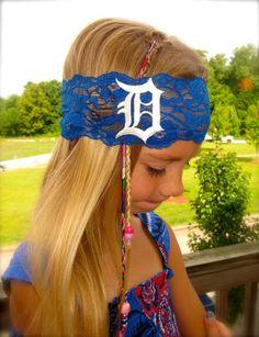 Detroit Lace Headband -Child