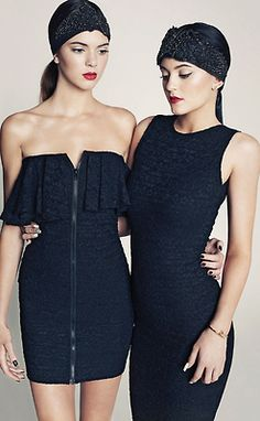 jenner-news:  More of Kendall and Kylie modeling for Marie Claire Mexico.
