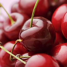 Sweet tip: Because cherries bruise easily, it's best to take them out of the bag you buy them in and store them in a shallow bowl to disperse their weight. #WWLoves