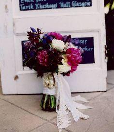 hippie chic wedding floral