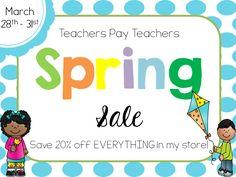 spring sale, tpt spring