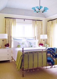 A simple bed // Bedrooms