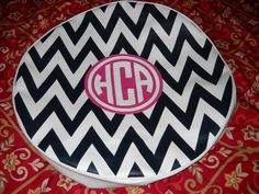 Spare Tire Cover Monogram HCA on Etsy, $140.00