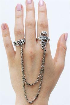 litter sf sterling snake ring
