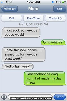 mom text, funni stuff, laugh, giggl, humor, autocorrect fail