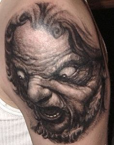 Paul Booth tattoo