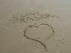 Thanks Laurence, we do too! #fraserexplorer #fraserisland #queensland #australia www.fraserexplorertours.com.au