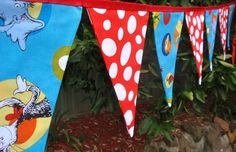 Dr. Seuss bunting