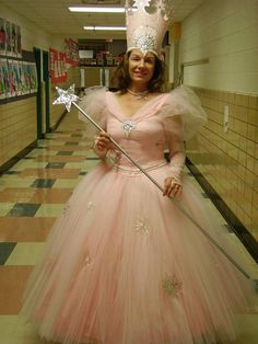 Glinda the Good Witch costume for Shadow Box Players- Charlottesville VA