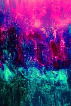 color neon art ( via @kennymilano )
