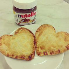 Nutella baked mini pies | The HONEYBEE