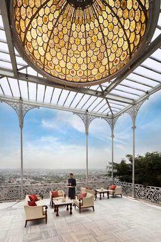 taj falaknuma, high tea, hyderabad, falaknuma palac, palaces, covered patios, india, hotel, place