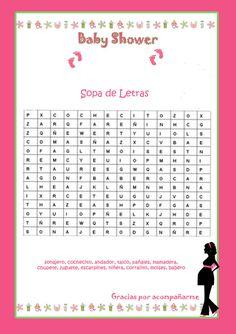 Nuestros bebes: Juegos para Baby shower