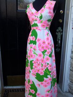 Pink and green--preppy perfection!!