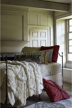 Anthropologie Home. Got the sheets and very similar duvet. Mix up the pillows then we're done!